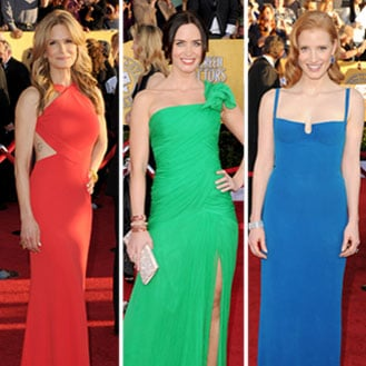 2012 SAG Awards Red Carpet, Celebrity and Dress Pictures