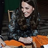 Kate Middleton at Natural History Museum in London Nov. 2016