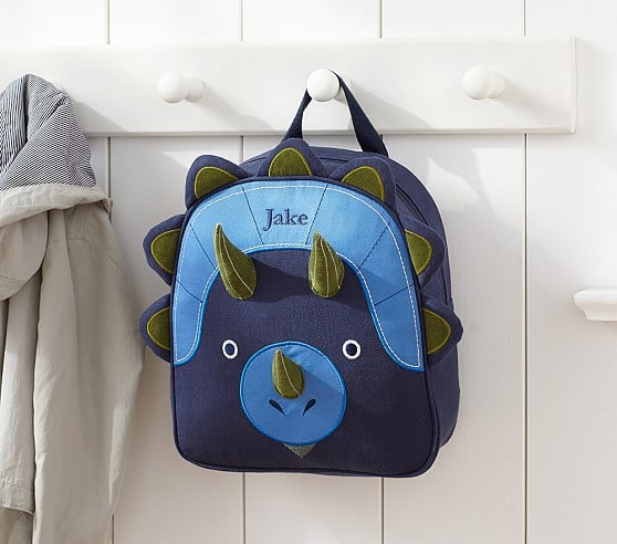 "Dinosaur Backpack for Boys 16/"" Preschool Bookbag and Lunch Box Set"