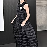 Millie Bobby Brown at a Moncler Genius Event During Milan Fashion Week