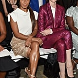 Jada Pinkett Smith and Coco Rocha