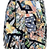 Moschino Vintage comic print shorts