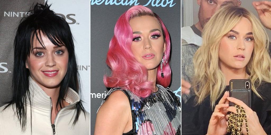 Katy Perry Hair Colour Transformation