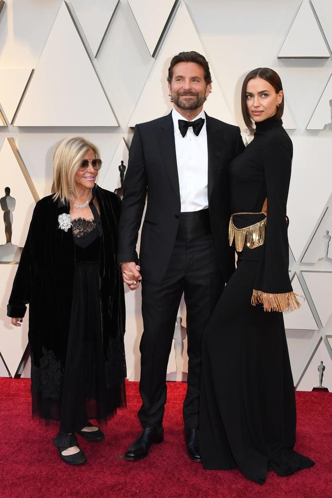 Bradley Cooper With His Mom, Gloria Campano, and Irina Shayk