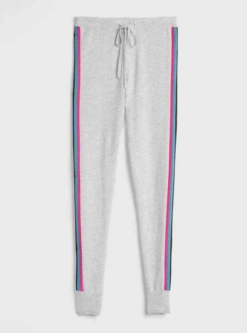 Side Stripe Sweater Leggings