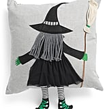Dangle Leg Witch Pillow