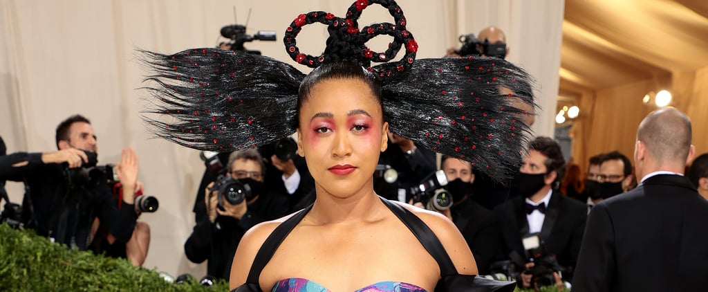 Naomi Osaka's Louis Vuitton Dress | Met Gala 2021