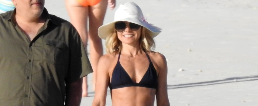 Kelly Ripa Takes a Break From Shooting Her Talk Show For Some Bikini Time in the Bahamas