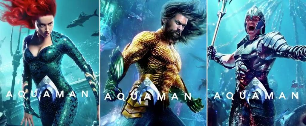 Aquaman Character Posters