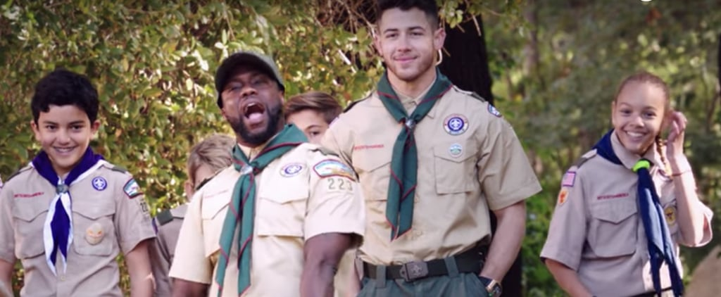 Watch Nick Jonas and Kevin Hart Become Scouts | Video