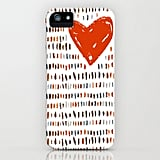 Heart doodle case ($35) for iPhone models and Samsung Galaxy