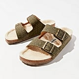 Birkenstock Arizona Happy Lamb Wool Sandal