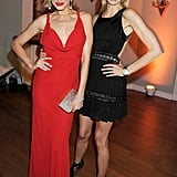 Petra Nemcova and Karolina Kurkova partied together in Cannes.