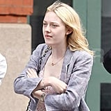 Dakota Fanning Breaks From Her Beach Time With Elle to Visit the Big Apple