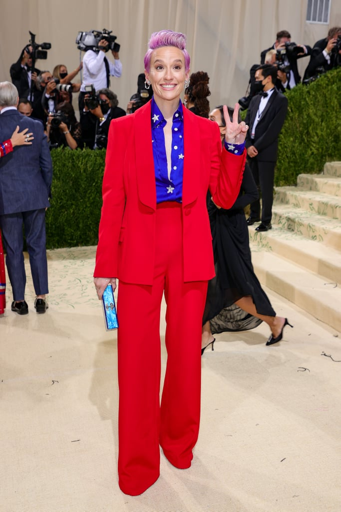 Megan Rapinoe at the 2021 Met Gala
