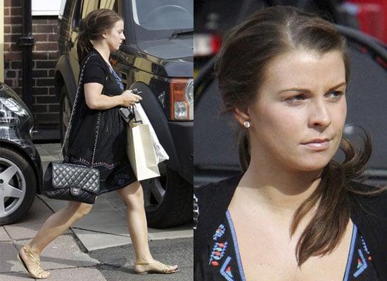 22/4/2009 Pregnant Coleen Rooney