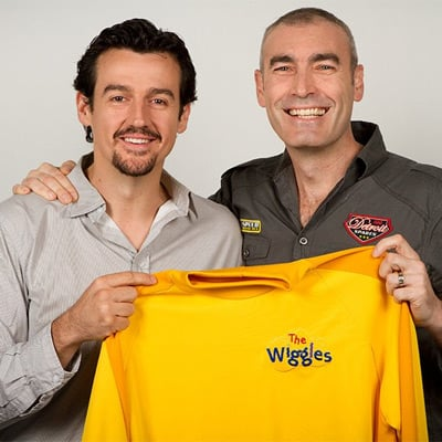 Greg Page Returning to The Wiggles as Yellow Wiggle; Sam Moran Stepping Aside