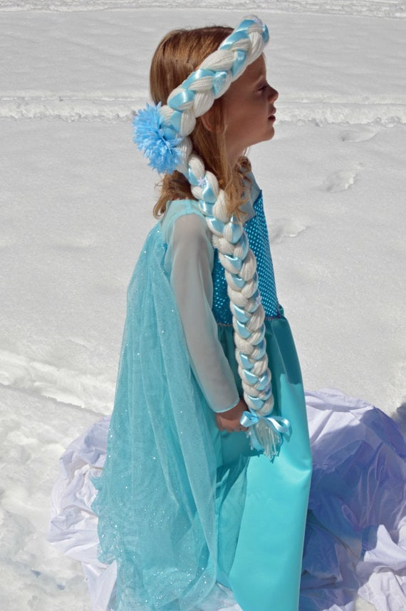 Handmade Braided Elsa Wig