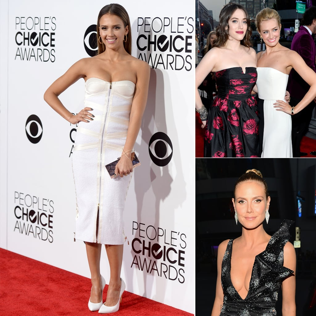 See Who Wore What to Last Year's People's Choice Awards