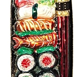 Nordstrom at Home Sushi Plate Handblown Glass Ornament