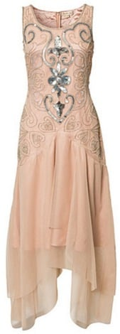 Frock and Frill Embellished Flapper Gown