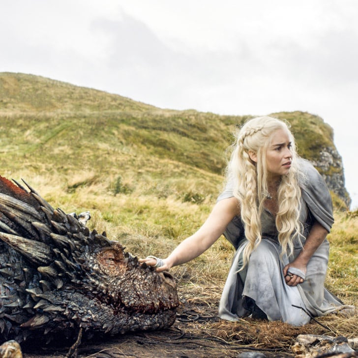 Game Of Thrones Daenerys And Her Dragons Gifs Popsugar Entertainment