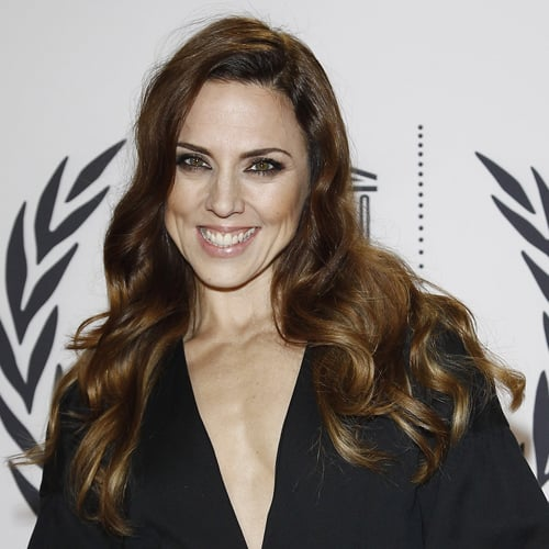 One of our all-time faves for Mel C, these soft waves from late 2011 frame her face beautifully, and the colour is perfect for her skin tone.