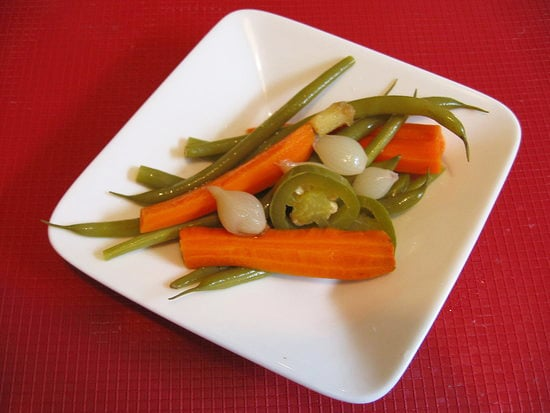 Spicy Pickled Vegetables