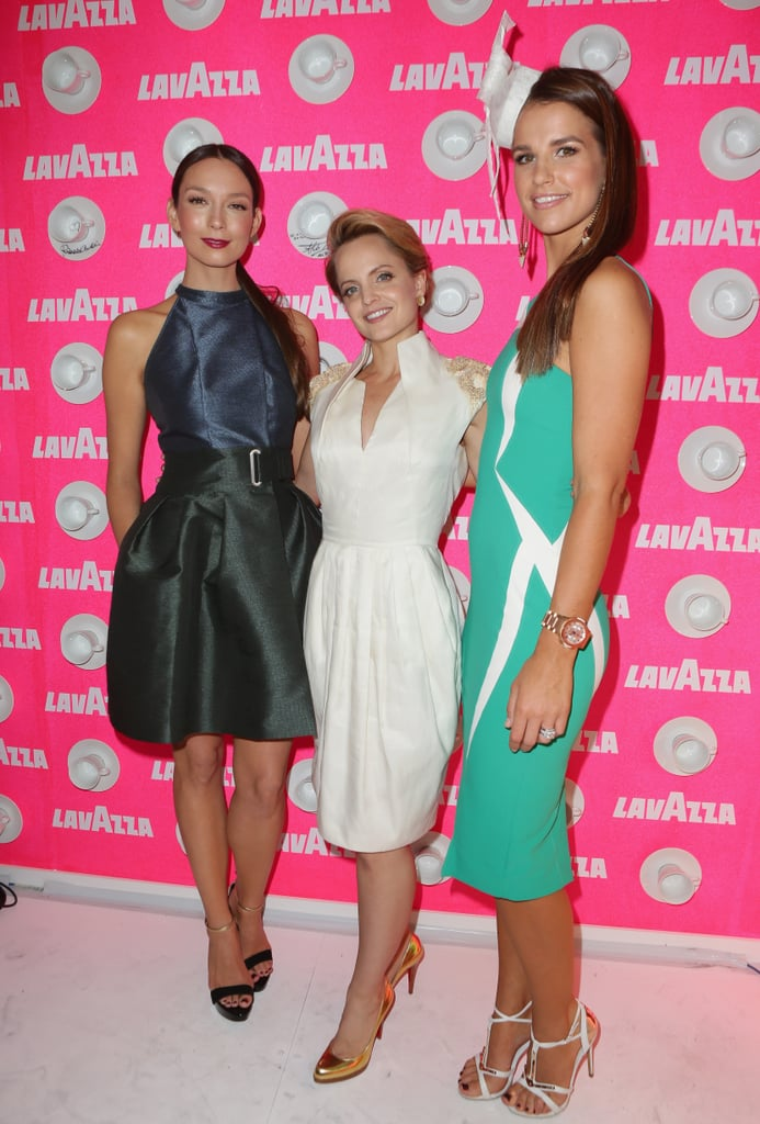 Ricki-Lee Coulter, Mena Suvari and Vogue Williams