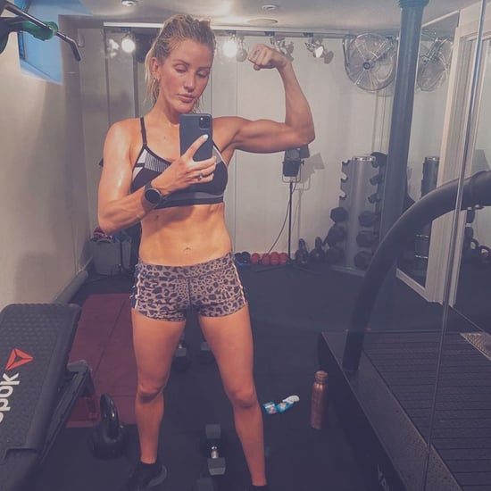 Ellie Goulding Shares a Strong, Inspiring Gym Selfie
