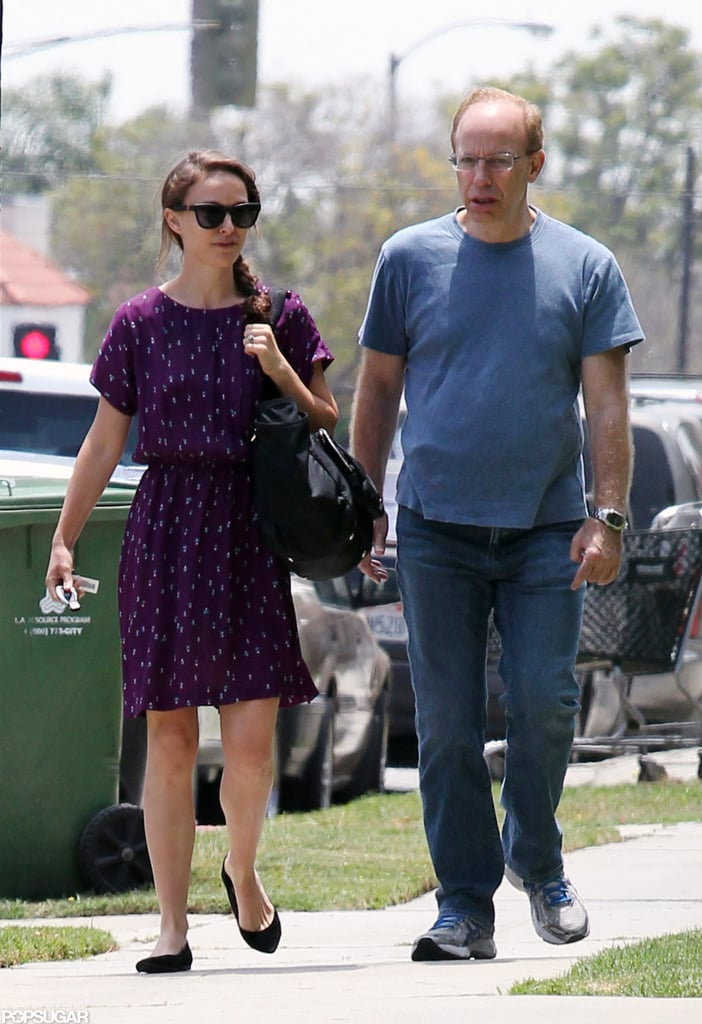 Natalie Portman Rings in 31 With Baby Aleph and Family