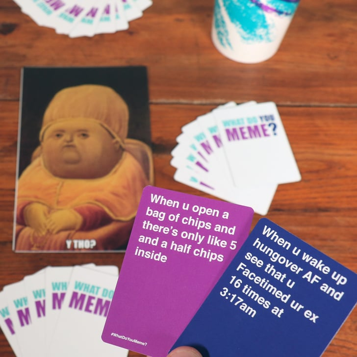What Do You Meme Card Game what do you meme? card game popsugar tech