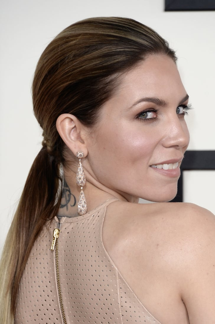 Skylar Grey Grammys 2014 Hair And Makeup On The Red