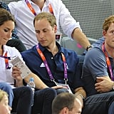 Prince William inspected Kate's credentials.