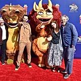 Andrew Goldberg, Nick Kroll, Jennifer Flackett, and Mark Levin at the 2019 MTV Movie and TV Awards