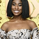 Lyric Ross's Blunt Long Bob at the Emmys 2019