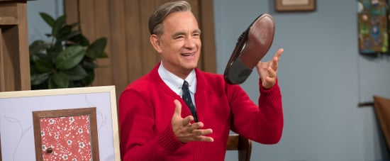 Photos of Tom Hanks as Mister Rogers