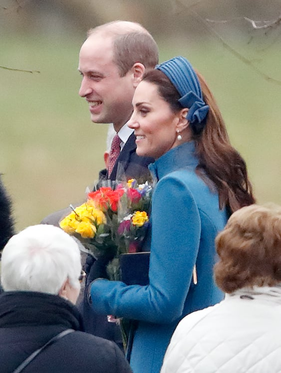 Kate Middleton at a Church Service in 2019