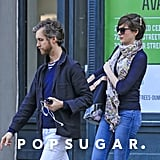 Anne Hathaway and Adam Shulman stepped out in Brooklyn together.