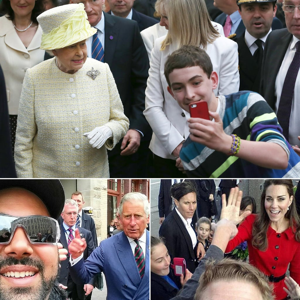 The Royal Selfies You Wish You'd Taken