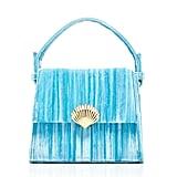 RIXO Jemima Tie Dye Velvet Bag