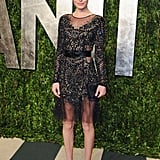 Kate got glam for the 2012 Vanity Fair Oscars afterparty in a black embellished Prabal Gurung dress.