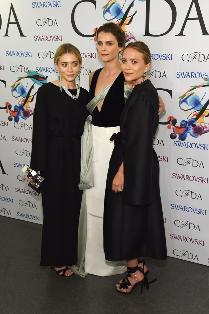 She attended the CFDA Awards in Rosie Assouline and with the Olsens. Does it even get more fashion than that?