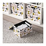 Geometric Storage Box With Lid