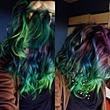 Aurora Borealis Hair Is the New Dreamy Trend in Rainbow Dye