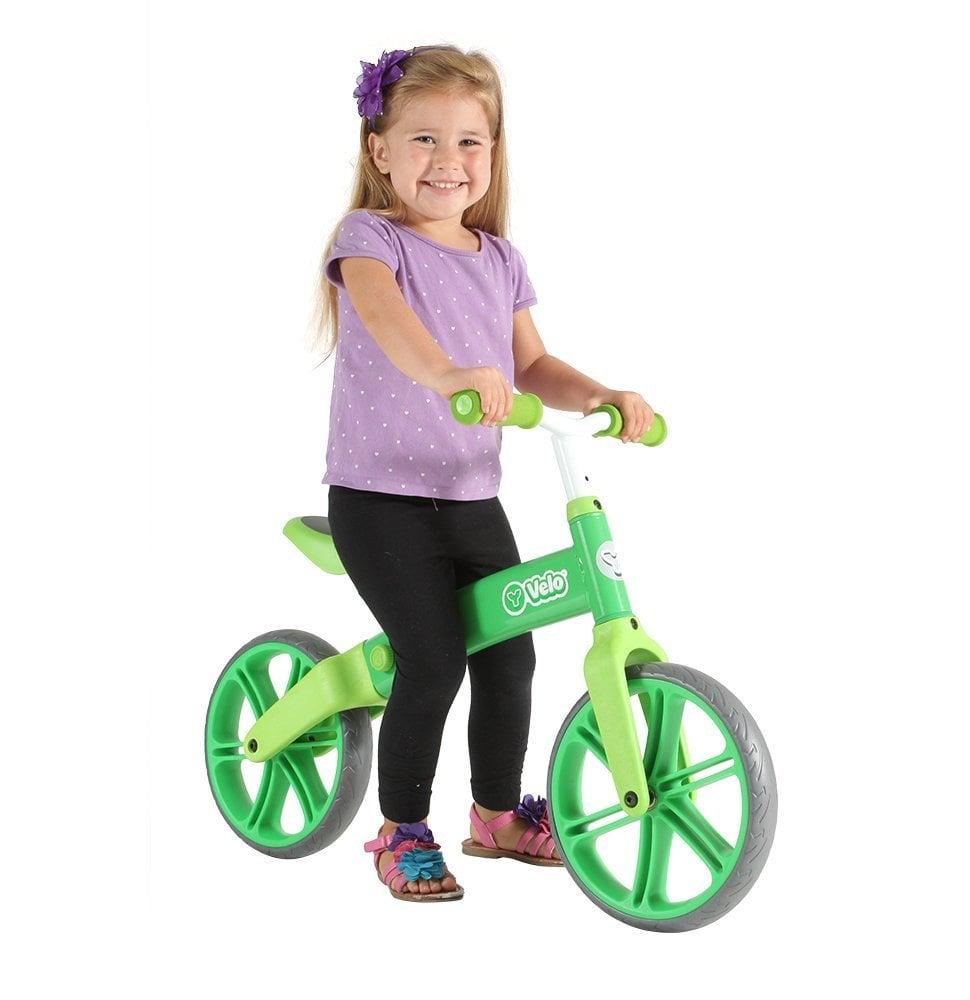 For 4-Year-Olds: Y Velo Senior Balance Bike