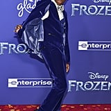 Ramon Reed at the Frozen 2 Premiere in Los Angeles