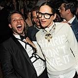 Derek Blasberg and Jenna Lyons. Source: Neil Rasmus/BFAnyc.com