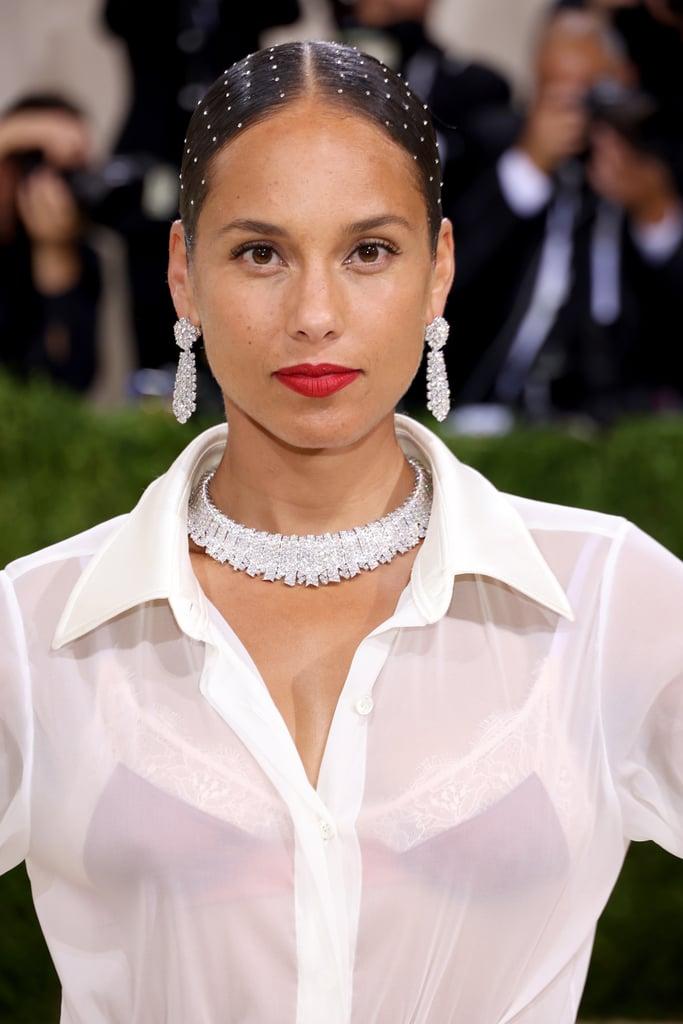 Alicia Keys's Crystal Hair at the Met Gala 2021