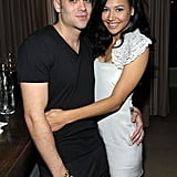 Mark Salling and Naya Rivera